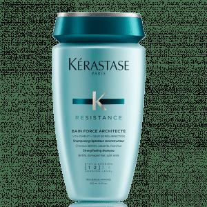 Kérastase Bain Force Architecte is een intensief herstellende shampoo voor verzwakt en beschadigd haar.