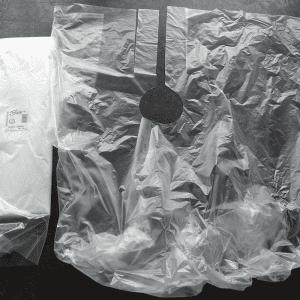 Plastic-kapmantels